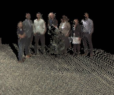 People Massive Point Clouds for eSciences